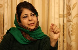 Chief Minister Mehbooba Mufti on Tuesday submitted her resignation