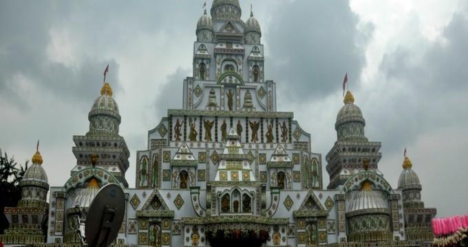 Durga puja pandal at rasulgarh bhubaneswar reportodisha the celebration gallery altavistaventures Images