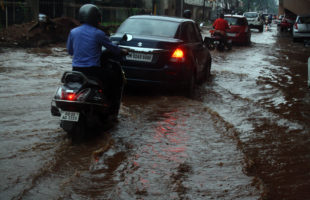 Water logging in Cuttack and Bhubaneswar