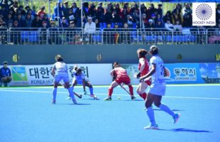 South Korea beat India