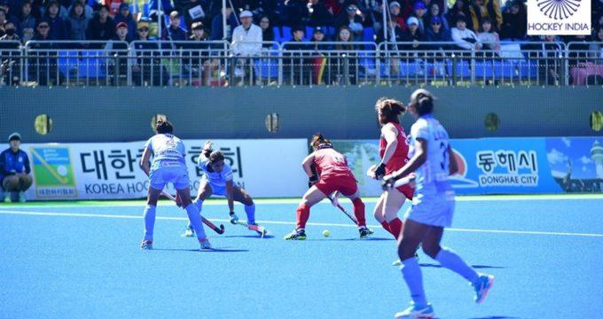 South Korea beat India