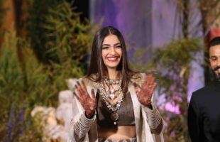 Sonam Kapoor just enjoying herself at her wedding