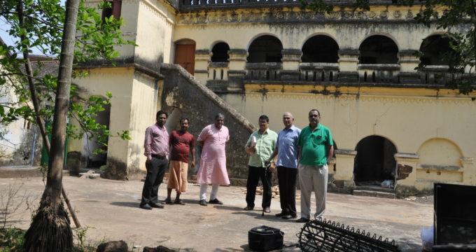 Old House of the Jagganath Sadak in Ruins