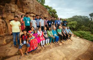 heritage walk at Udayagiri-Khandagiri Jain heritage site