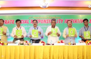 "third National Seminar on ""Corporate Social Responsibility Initiatives-2018"