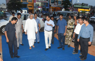 Smart Janpath Project reviewed by Odisha CM