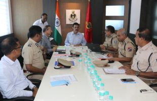 3rd Meeting of State Level Security Committee for Railways