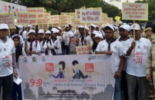 Rains fail to dampen the spirit of rally against drug abuse by Excise Dept, BMC