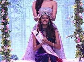 Anukreethy Vas is Femina Miss India World 2018