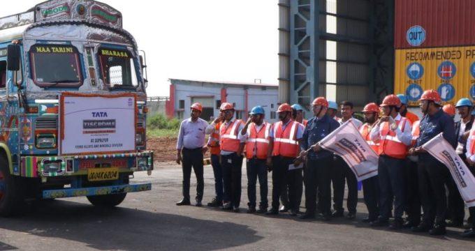Tata Steel starts despatch of Tata Tiscrome from its Gopalpur Plant