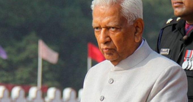 karnataka governor Vajubhai Vala