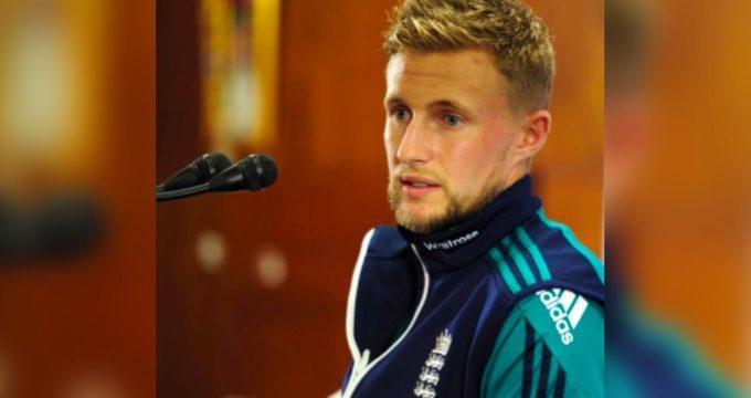Joe Root of England