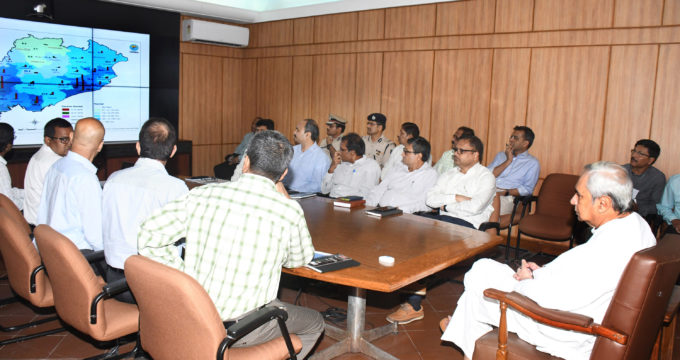 Odisha CM reviewed the flood-like situation and instructed officials to gear up to handle any kind of eventuality