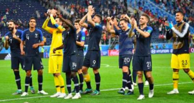 World Cup: France beat Belgium
