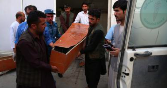 Kabul Suicide bomb attack