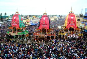 Thousands of devotees witness Bahuda Yatra of Lord Jagannath