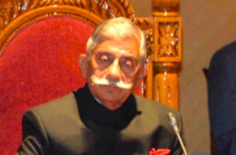 Arunachal Pradesh Governor B.D. Mishra