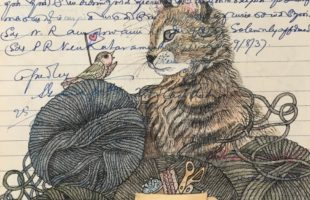 Illustrations on vintage postcards, letters to feature in exhibition