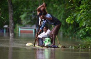 FLoods hits Assam