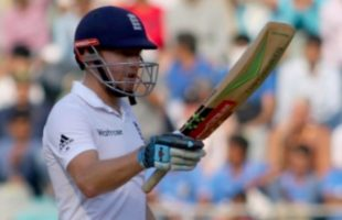 Jonny Bairstow of England celebrates his half century - Lord's Test