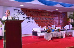KiiT International School Model United Nations Inaugurated