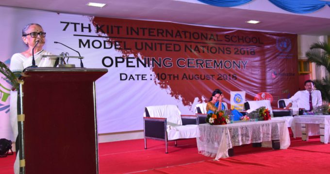 KiiT International School Model United Nations Inaugurated