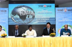• NALCO announces record 114% dividend amounting to Rs. 1102 crore for 2017-18, highest ever since inception