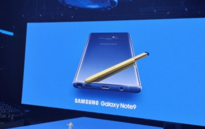 Samsung galaxy note 9 launched