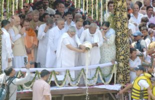 Vajpayee's ashes immersed in Haridwar