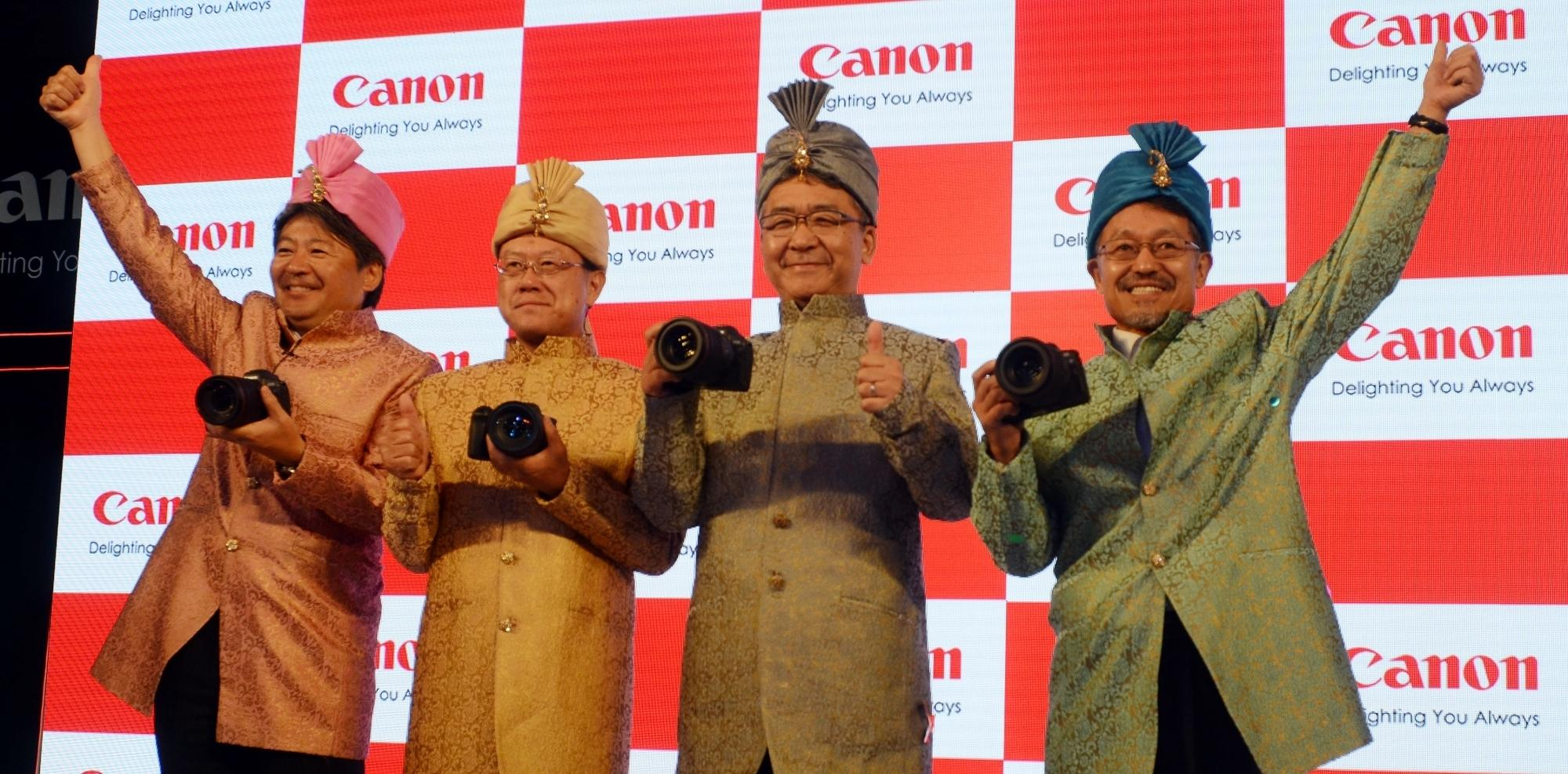 DSLR leader Canon unveils its first full-frame mirrorless camera in India