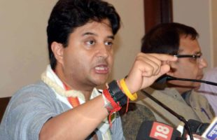 BJP MLA's son threatens to shoot Jyotiraditya Scindia