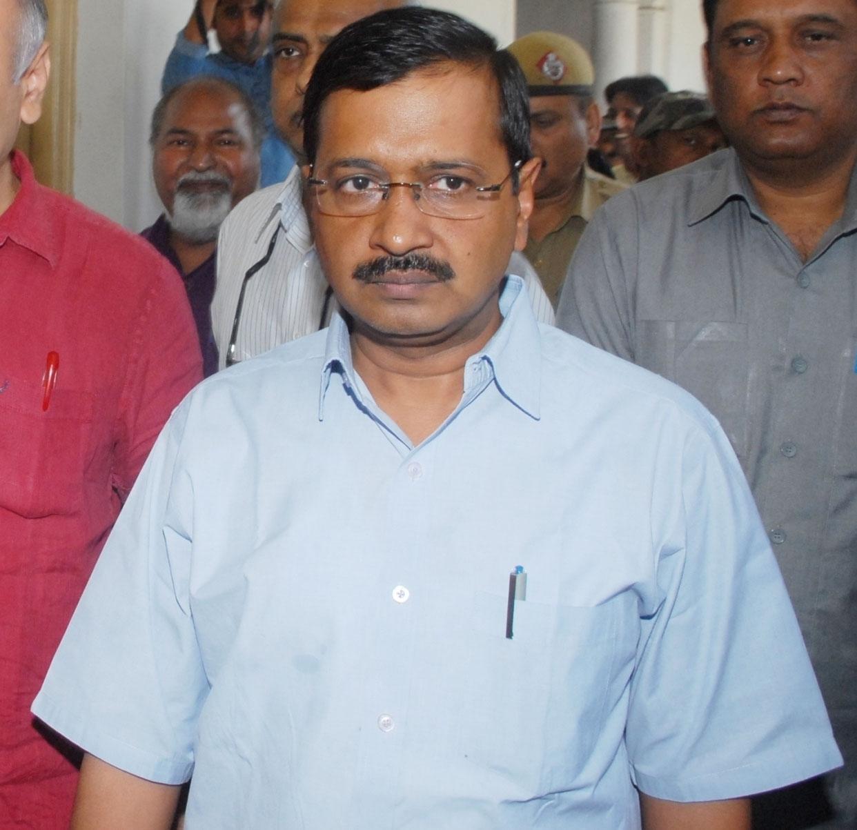 Kejriwal challenges Shah for a public debate at Ramlila Maidan
