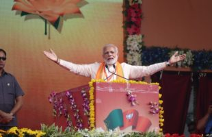 Congress throwing muck, conspiring to topple me: Modi