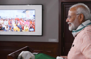 "PM launches ""Swachhata Hi Seva"", interacts with a cross-section of people"