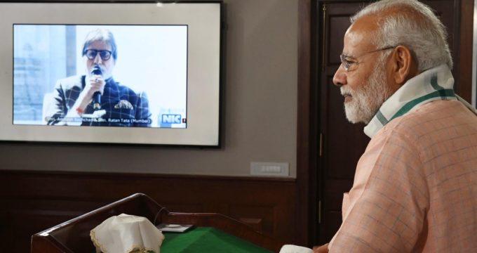 Honoured to share platform with Ratan Tata to speak to PM: Big B