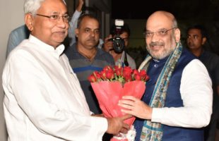 BJP-JD-U to contest equal number of LS seats: Shah, Nitish