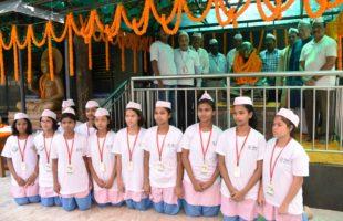 Gandhi Jayanti Celebrated at KISS & KIIT
