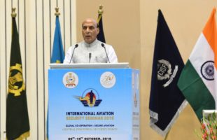 Rajnath calls for new technology, global cooperation for aviation security