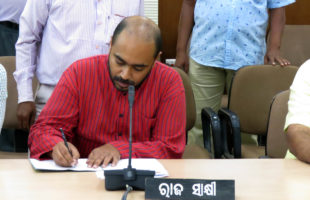 Abhijit submits affidavit with Odisha House committee