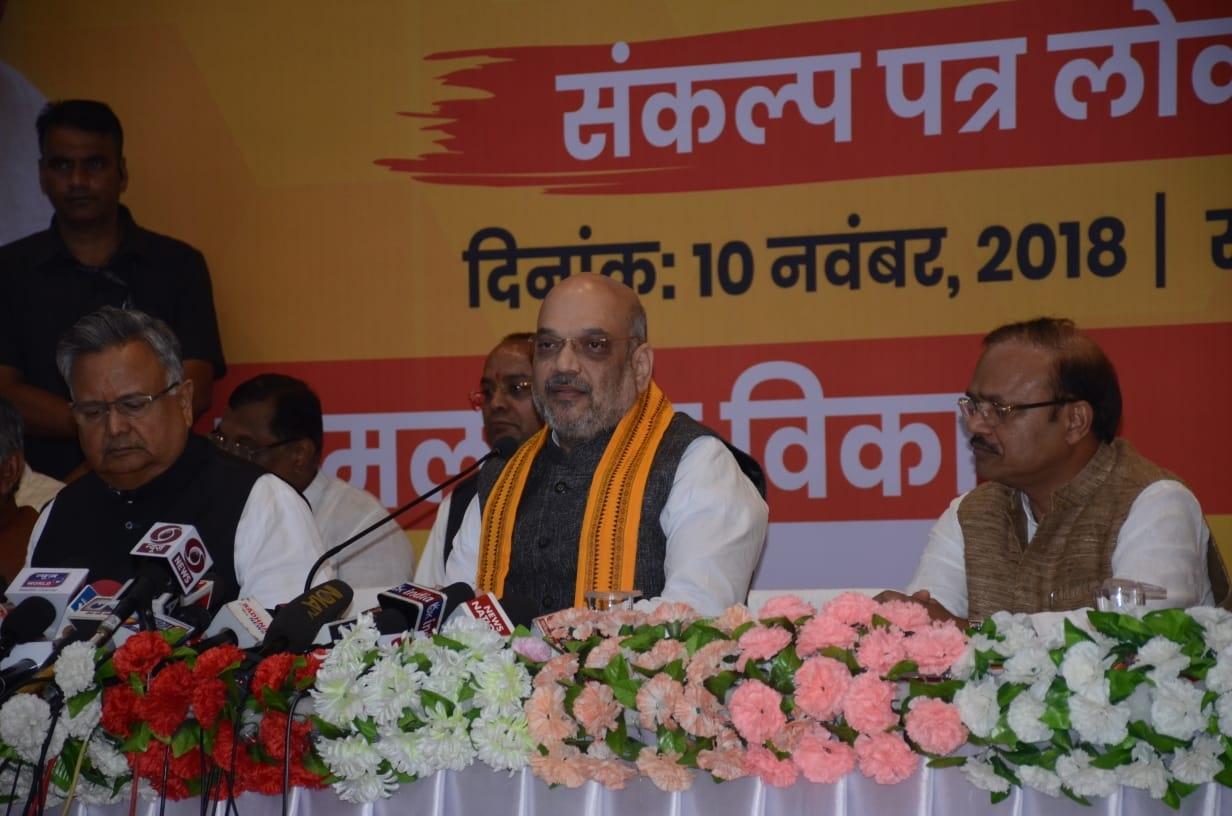 BJP has made Chhattisgarh nearly Maoist-free: Shah