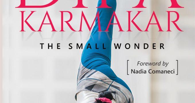 Cover Launch of Dipa Karmakar Memoir at the Ekamra Sports Literary Festival