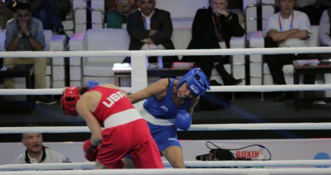 Women's boxing worlds: Debutant Manisha stuns title contender