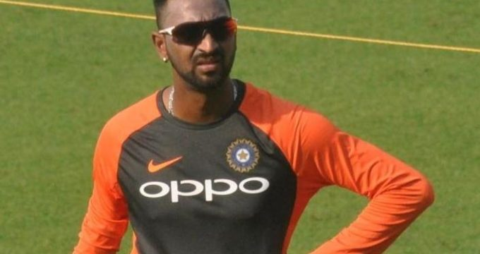 Krunal named in India's 12 for 1st T20I vs West Indies