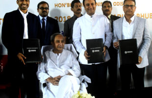Hockey Men's World Cup Trophy unveiled by Odisha CM
