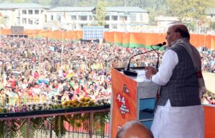 Naxalism, militancy are down: Rajnath