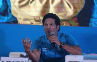Sachin bats for inclusion of sports in school syllabi