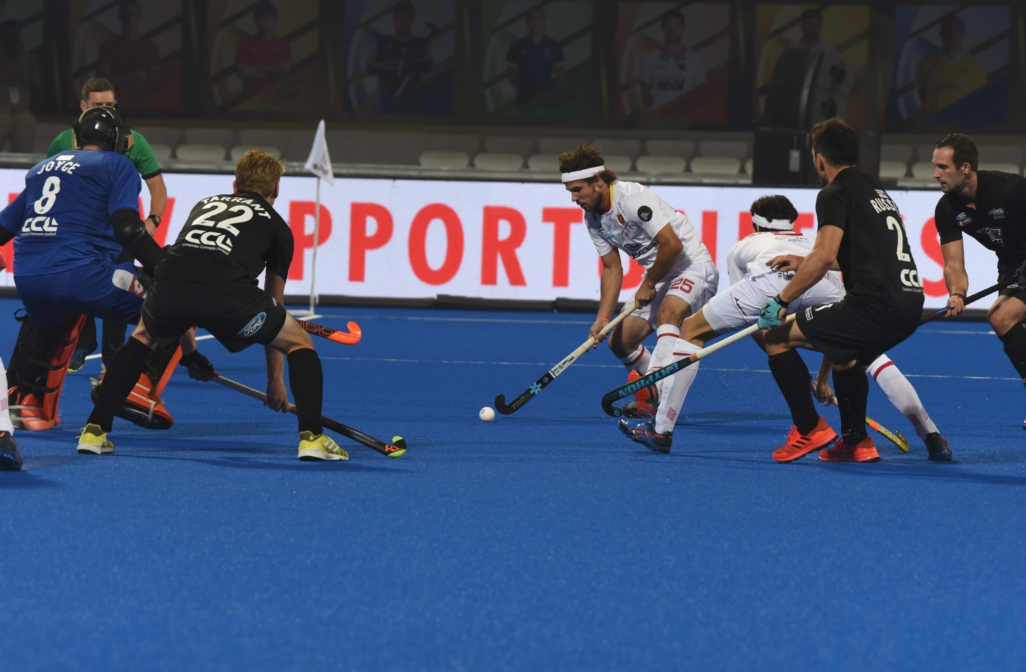 Hockey World Cup: New Zealand play 2-2 draw against Spain