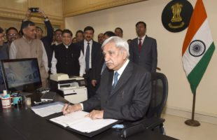 Sunil Arora assumes charge as CEC