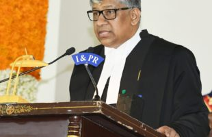 First Chief Justice of Telangana High Court sworn in