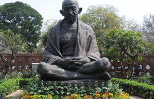 Art on 'Gandhi and world peace' displays unique artistic expression